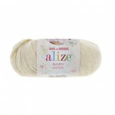 Alize Baby Wool 01, уп.10шт