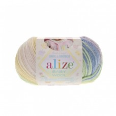 Alize Baby Wool Batik 4004, уп.10шт