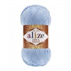 Alize Diva Stretch 350, уп.5шт