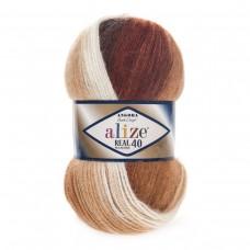 Alize Angora Real 40 Batik 2626, уп.5шт