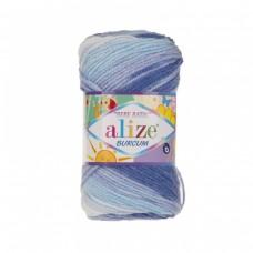 Пряжа Alize Burcum Bebe Batik 2165
