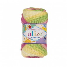 Alize Burcum Bebe Batik 2613, уп.5шт