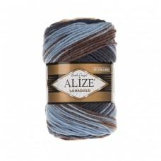 Alize Lanagold Batik 3017, уп.5шт