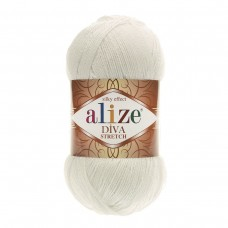 Alize Diva Stretch 62, уп.5шт