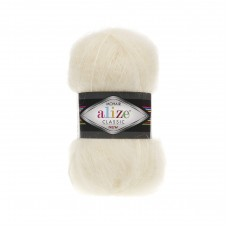 Alize Mohair Classic New 01, уп.5шт