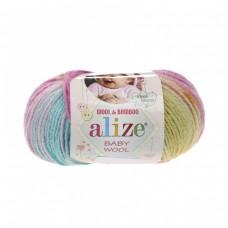 Alize Baby Wool Batik 6550, уп.10шт