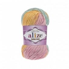 Alize Cotton Gold Batik 6784, уп.5шт