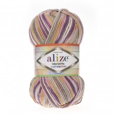 Alize Cotton Gold Plus Multi Color 52197, уп.5шт