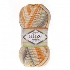 Alize Cotton Gold Plus Multi Color 52176, уп.5шт