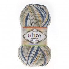 Alize Cotton Gold Plus Multi Color 52200, уп.5шт