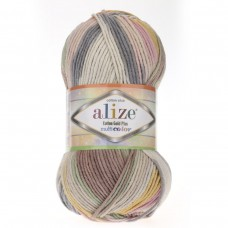 Alize Cotton Gold Plus Multi Color 52204, уп.5шт