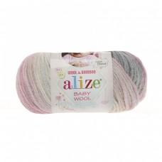 Alize Baby Wool Batik 3245, уп.10шт