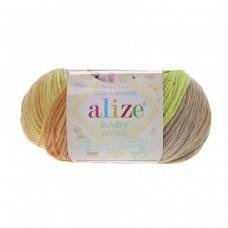 Alize Baby Wool Batik 5559, уп.10шт