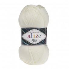 Alize Diva Plus 01, уп.5шт