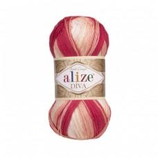 Alize Diva Batik 7106, уп.5шт