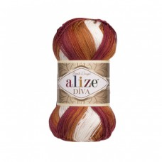 Alize Diva Batik 7107, уп.5шт