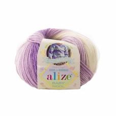 Alize Baby Wool Batik 7254, уп.10шт