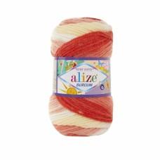 Alize Burcum Bebe Batik 7104, уп.5шт