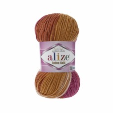 Alize Cotton Gold Batik 7107, уп.5шт