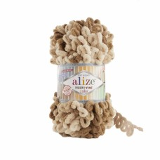 Alize Puffy Fine Color 6066, уп.5шт