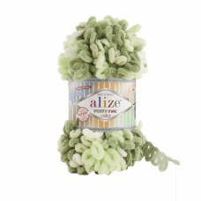 Alize Puffy Fine Color 6068, уп.5шт