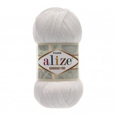 Alize Bamboo Fine 55, уп.5шт