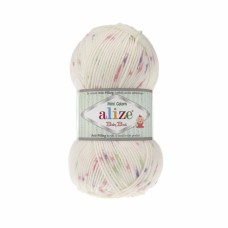 Пряжа Alize Baby Best Mini Colors 6930, уп.5шт