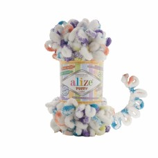 Пряжа Alize Puffy Color 7539
