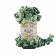 Пряжа Alize Puffy Color 6258