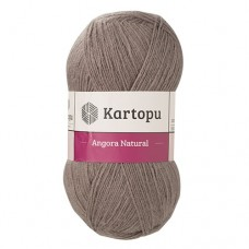 Kartopu Angora Natural 1921, уп.5шт