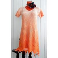 Платье из Alize bella ombre batik