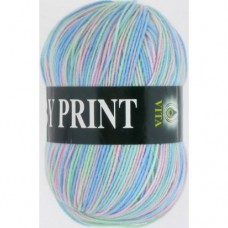 Пряжа Vita Baby Print 4863
